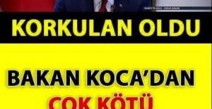BAKAN KOCA'DAN SON DAKİKA AÇIKLAMASI