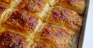 Baklava Yufkasından Patatesli Çıtır Börek