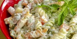 Makarnalı Patlıcan Salatası Tarifi