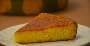 Portakallı pamuk kek