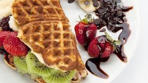 Dondurmalı Sandviç Waffle - 1