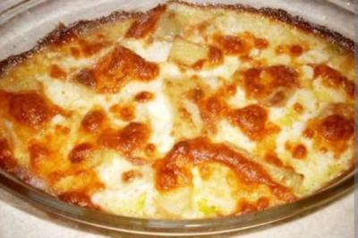 Fırında Kremalı Patates Tarifi - 1