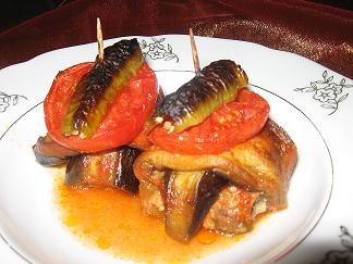 Fırında Patlıcanlı Köfte Tarifi - 1