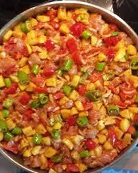 Fırında Sebzeli Etli Yemek - 1