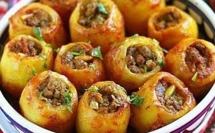 Kıymalı Patates Dolması Tarifi - 1