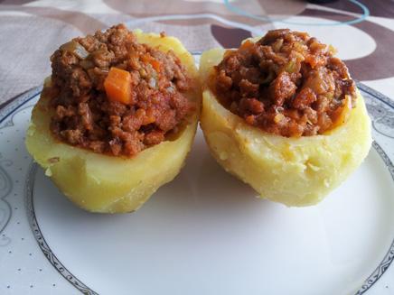 Köfteli Patates Dolması Tarifi - 1