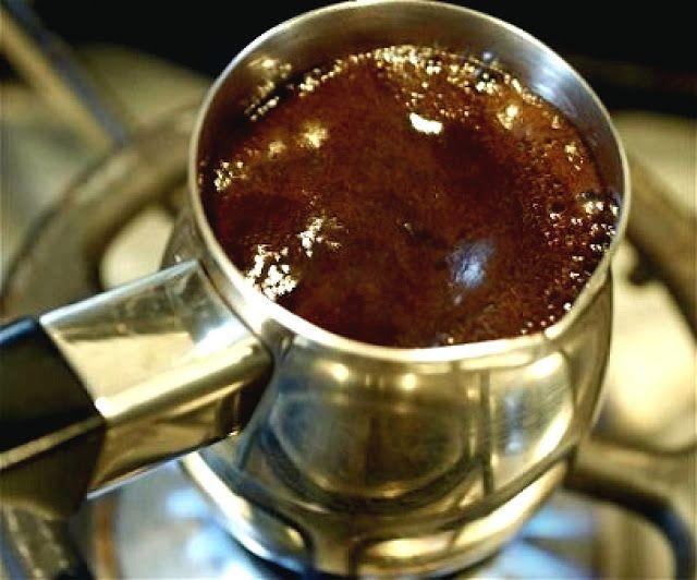 Maden Sulu Türk Kahvesi Tarifi - 1