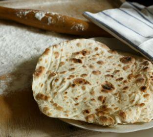 Mayasız Lavaş Ekmeği Tarifi - 2