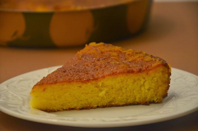 Portakallı pamuk kek - 1