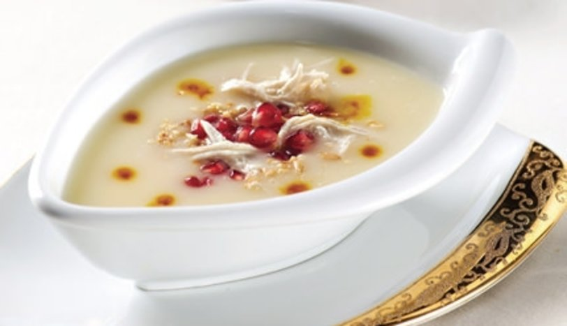 Terbiyeli Tavuk Çorbası - 1