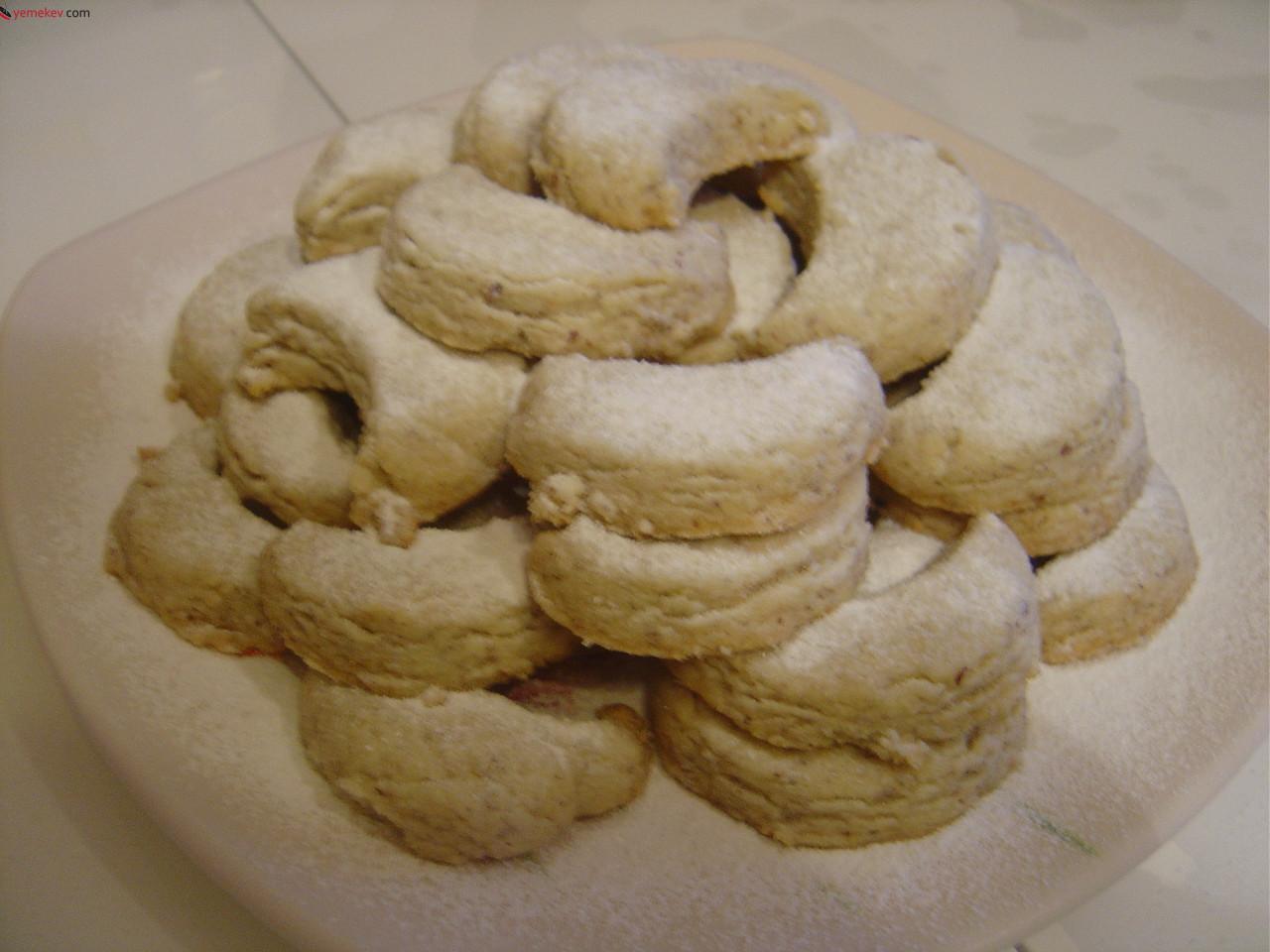 Kakaolu ay kurabiyesi tarifi