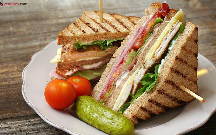 Kulüp Sandviç (Club Sandwich) Tarifi - 2