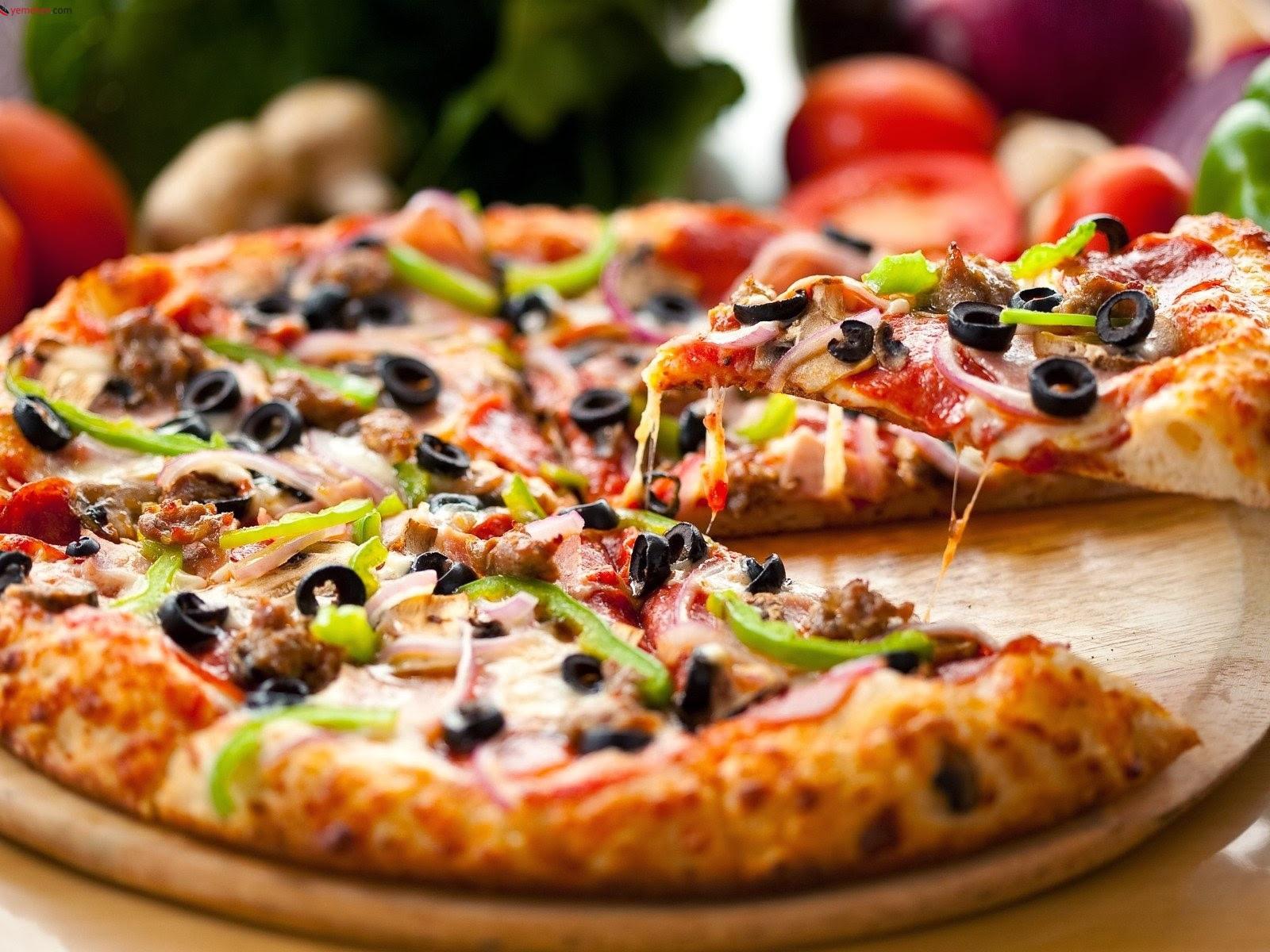 Mayasız Hamurdan Pizza Videosu 69