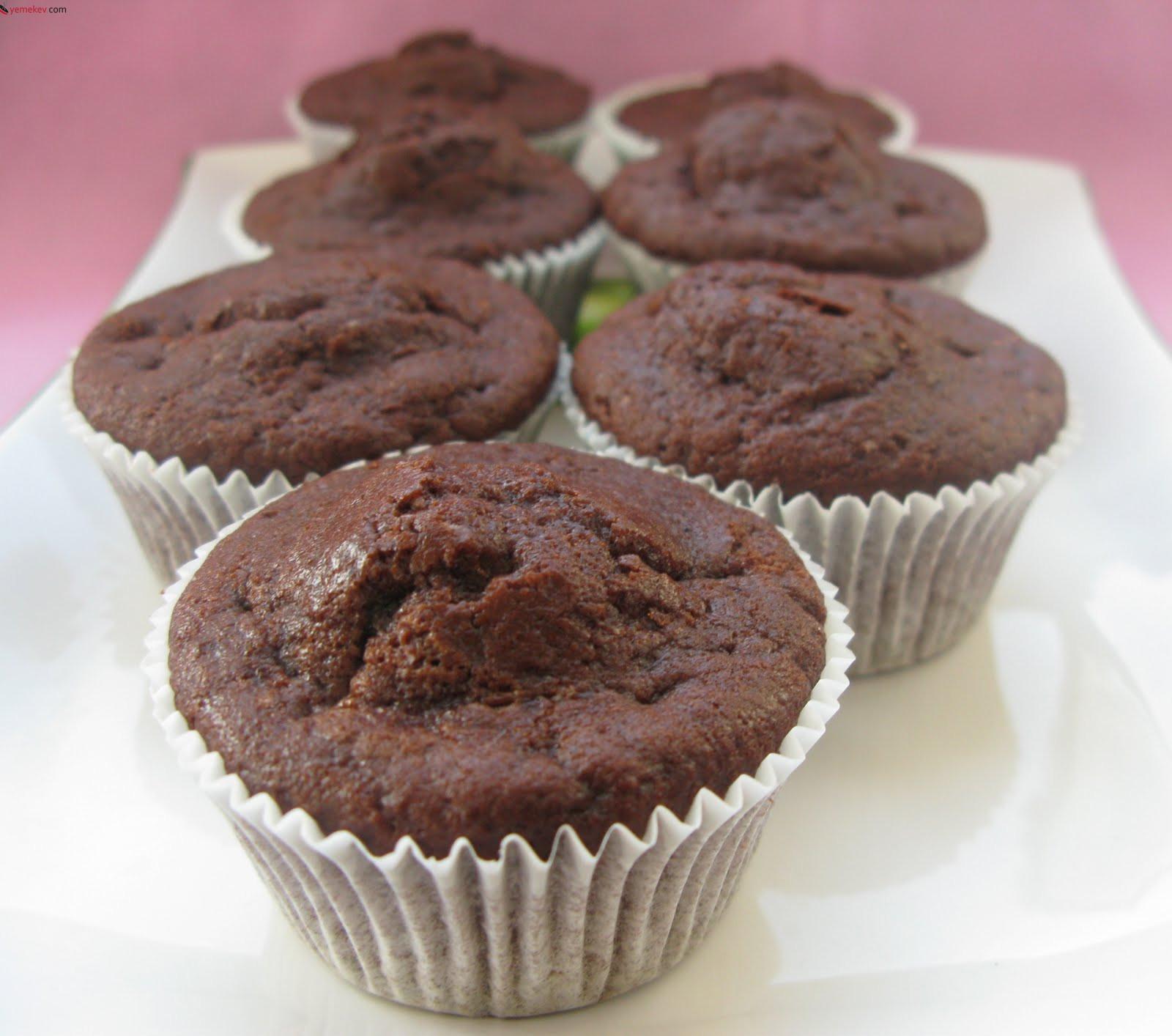 Nutellalı Muffin Kek