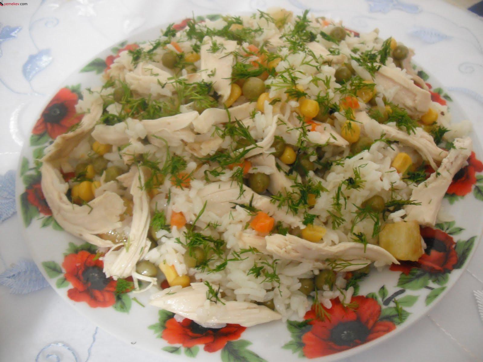 Sebzeli Pilav Yapılışı