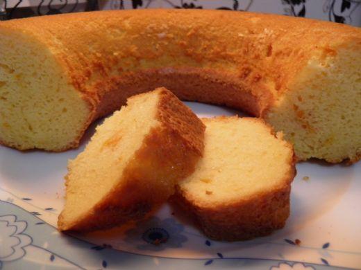 Yoğun Portakallı Kek Tarifi - 1