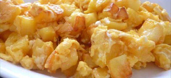 Yumurtalı Patates Tarifi - 1