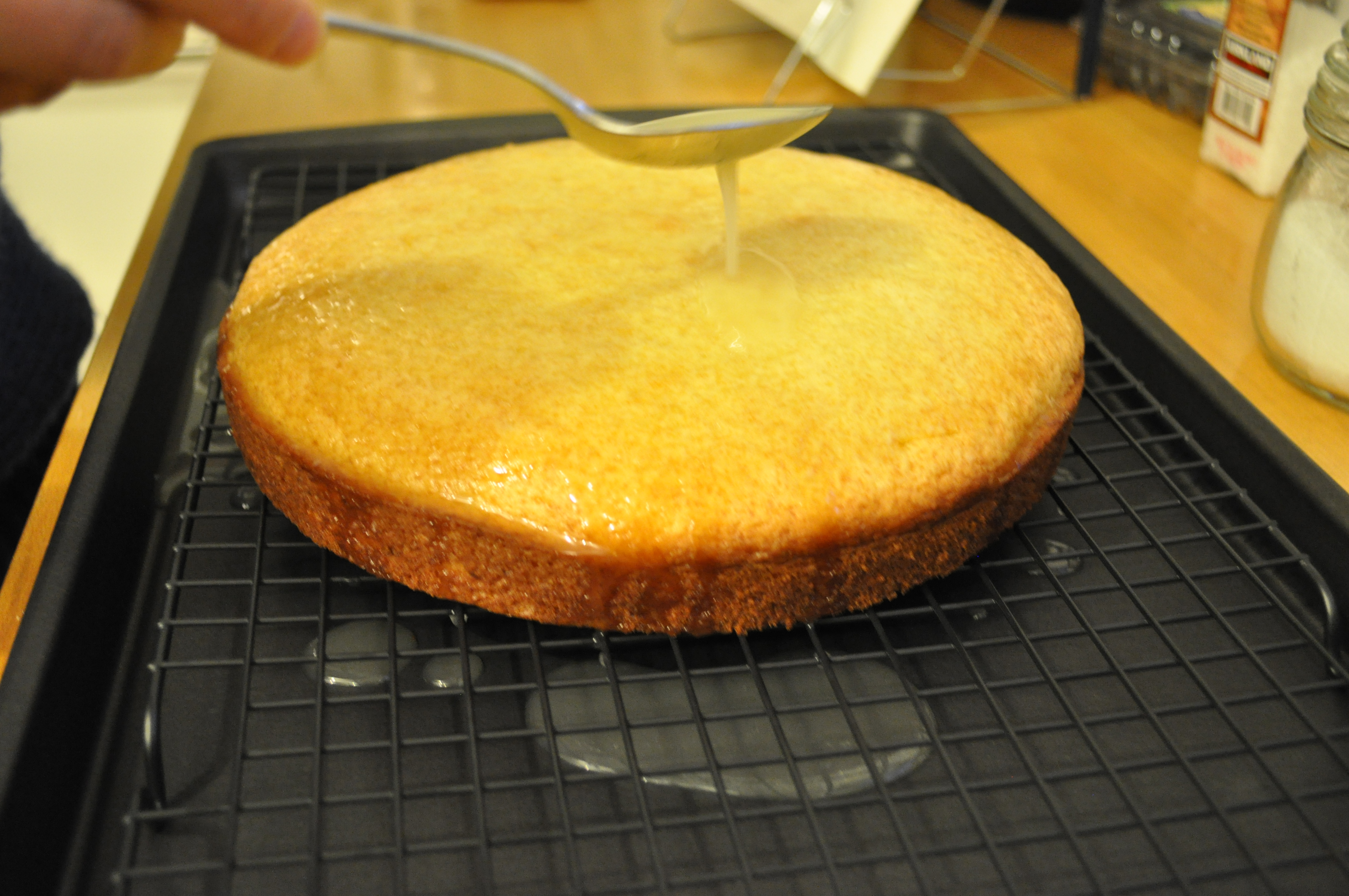 Limon Aromalı Pasta Tarifi
