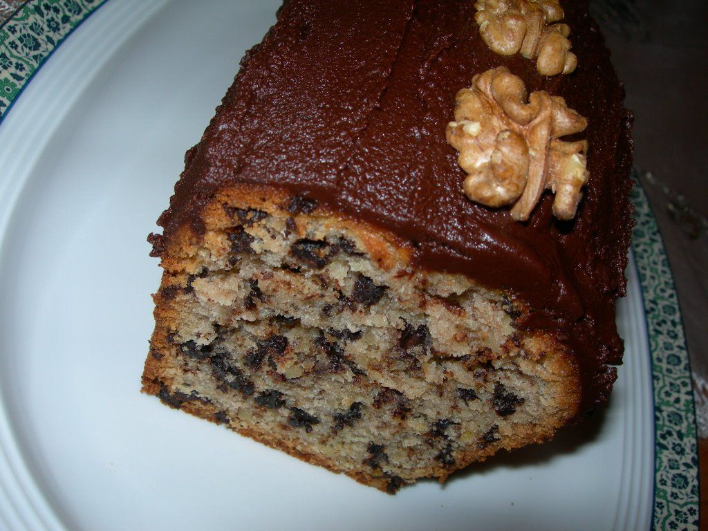 Bademli Damla Çikolatalı Kek Tarifi