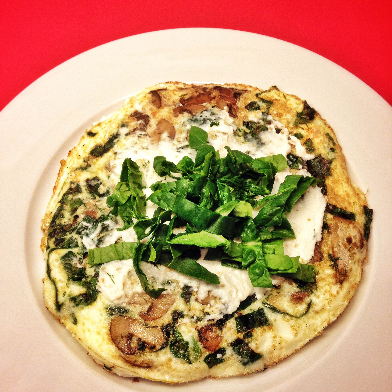 Ispanaklı Omlet Tarifi – Kahvaltılık Tarifler